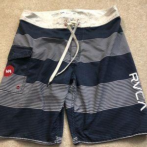 RVCA swim trunks